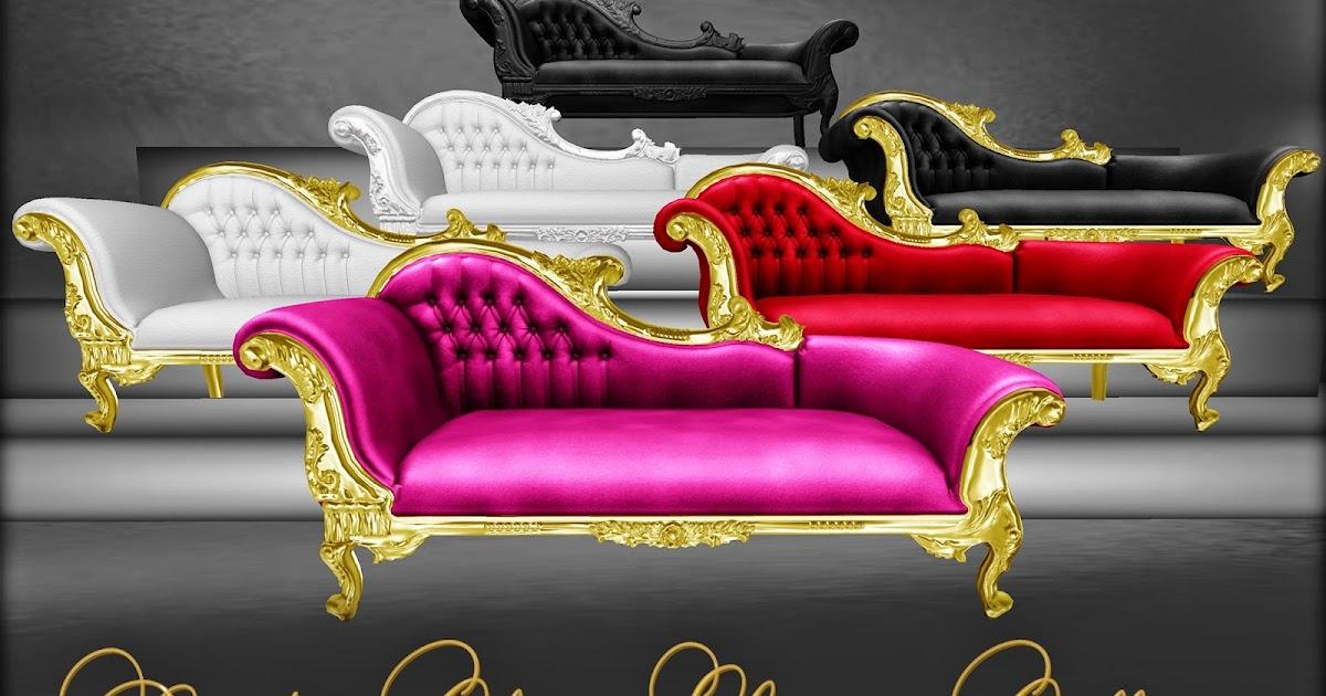 Boudoir Chaise Lounge Collection | Vitabela