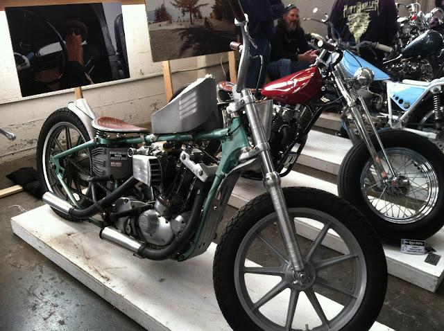 Unique custom motorcycle