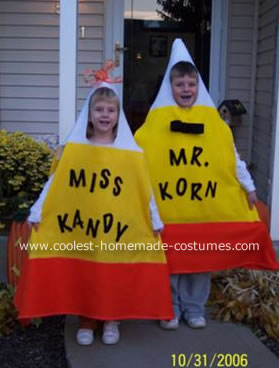 Homemade candy corn costumes for kids from Coolest Homemade Costume  sc 1 st  Cute Food For Kids? & Cute Food For Kids?: 42 Candy Corn Ideas