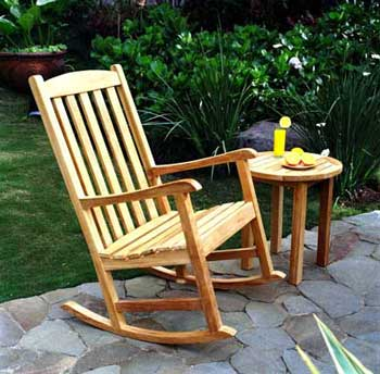ROSE WOOD FURNITURE: wood rocking chairs