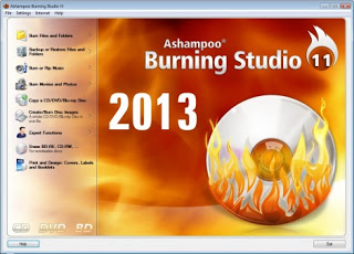 تحميل برنامج أشامبو Ashampoo Burning Studio FREE 2013 11.0.6 مجانا