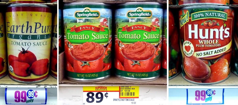 The 99 Cent Chef: Easy Marinara Sauce (tomato) - Video Recipe
