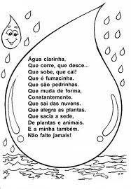 poesia tema agua