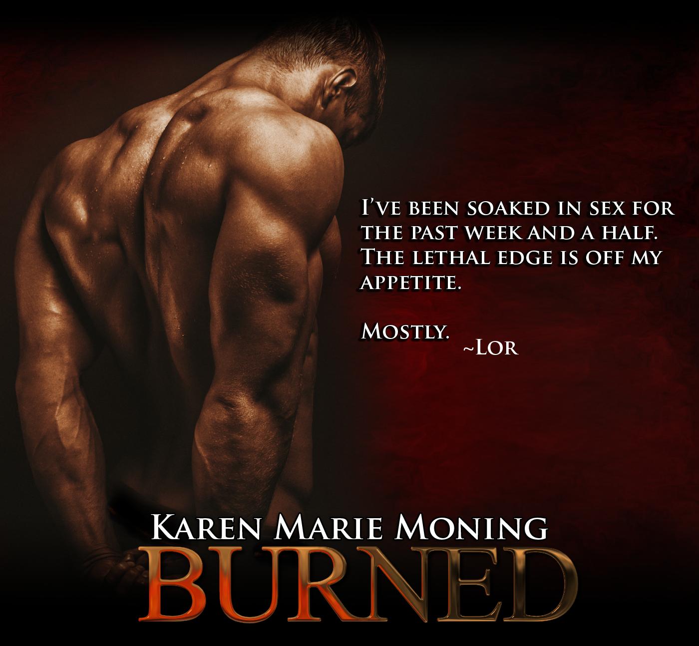Burned teaser karen marie moning burned teaser fandeluxe Gallery