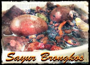 Sayur Brongkos