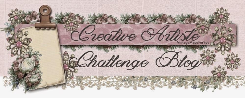Creative Artist Challenge Blog