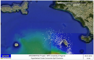 ARGOMARINE simulazione Costa Concordia