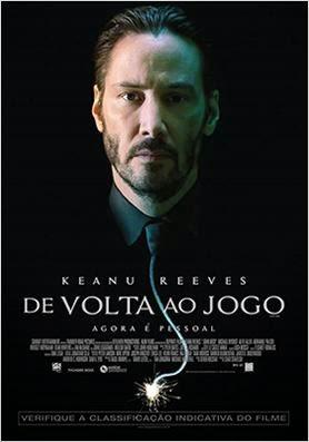 """Poster do filme """"De Volta ao Jogo"""""""