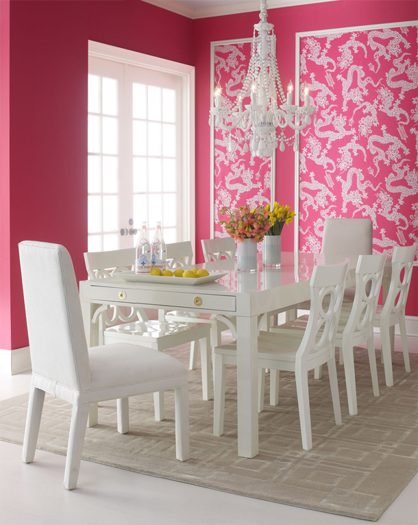 Lilly Pulitzer Dining Room