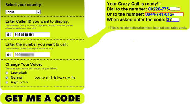 Fake Call Your Friends Using Any Mobile Number