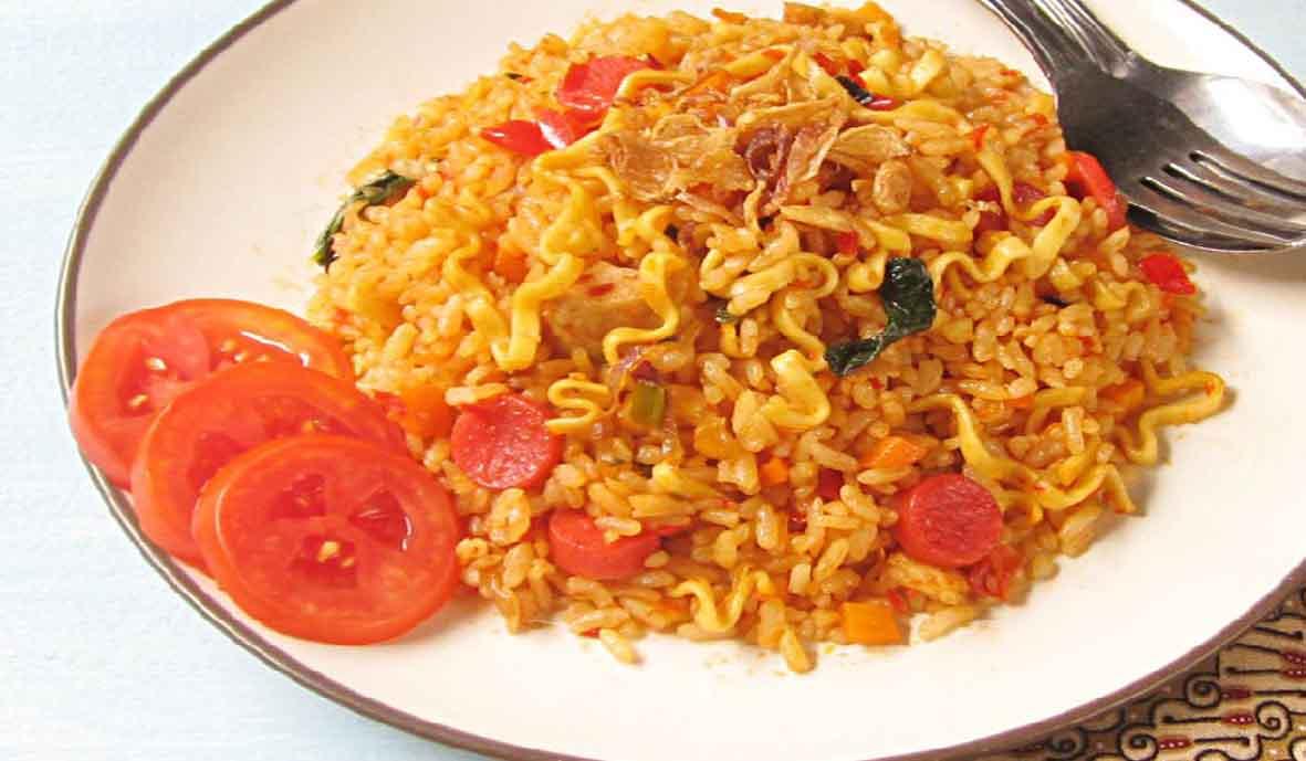 Resep Membuat Nasi Goreng Mawut Balado | INIRecipes