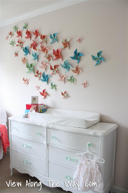 Diy Wall Decor For Baby : Crafting baby stuff imagine that diy nursery wall decor