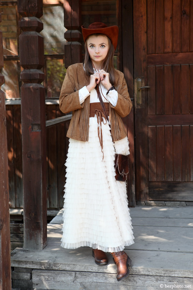 ковбойский образ для девушки фото
