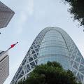 モード学園コクーンタワー,高層ビル街,新宿〈著作権フリー無料画像〉Free Stock Photos