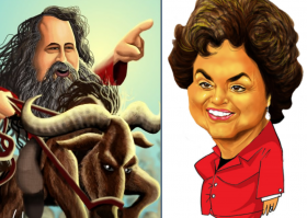 Stallman para Dilma Rousseff
