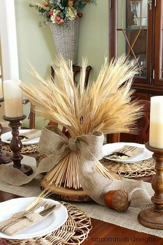 Aidixy y sus cosas acci n de gracias decoraci n de la mesa for Decoracion de mesa para accion de gracias
