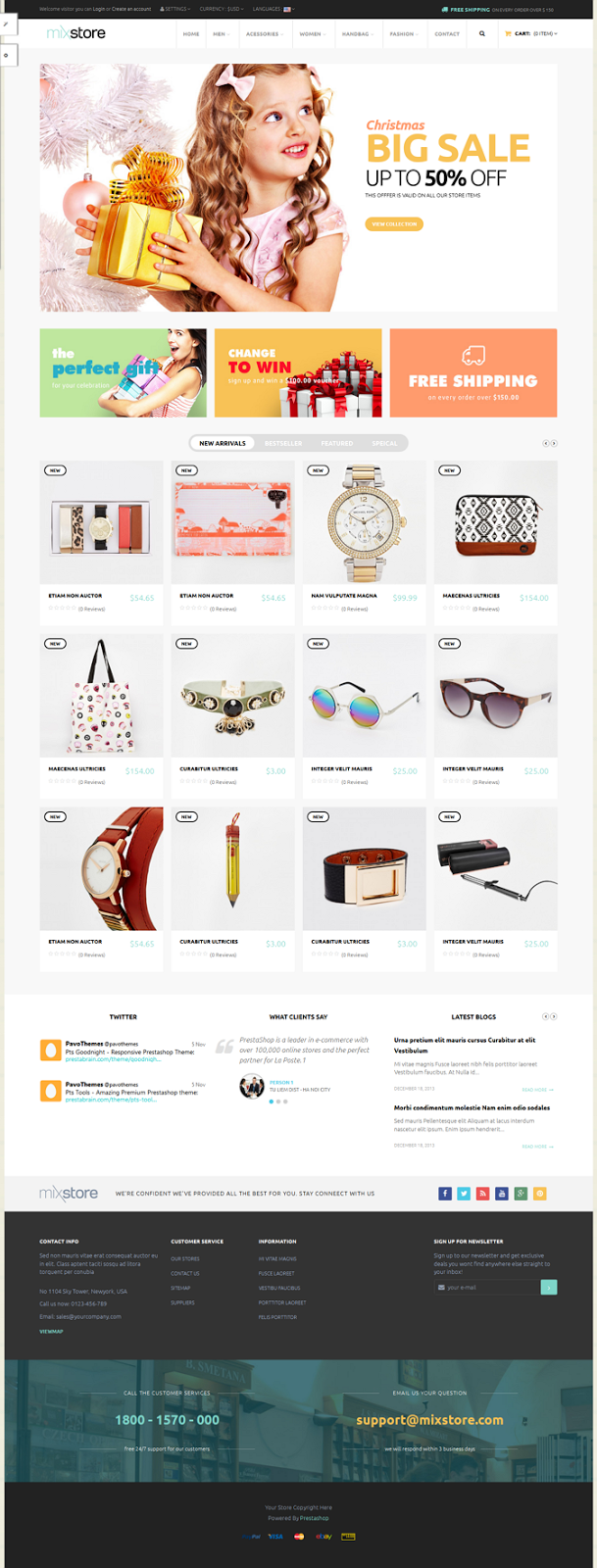 Pts Mixstore Multipurpose New Prestashop Theme
