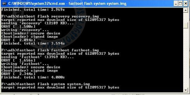 Flashing/Install Ulang Asus Zenfone C agar kembali seperti baru