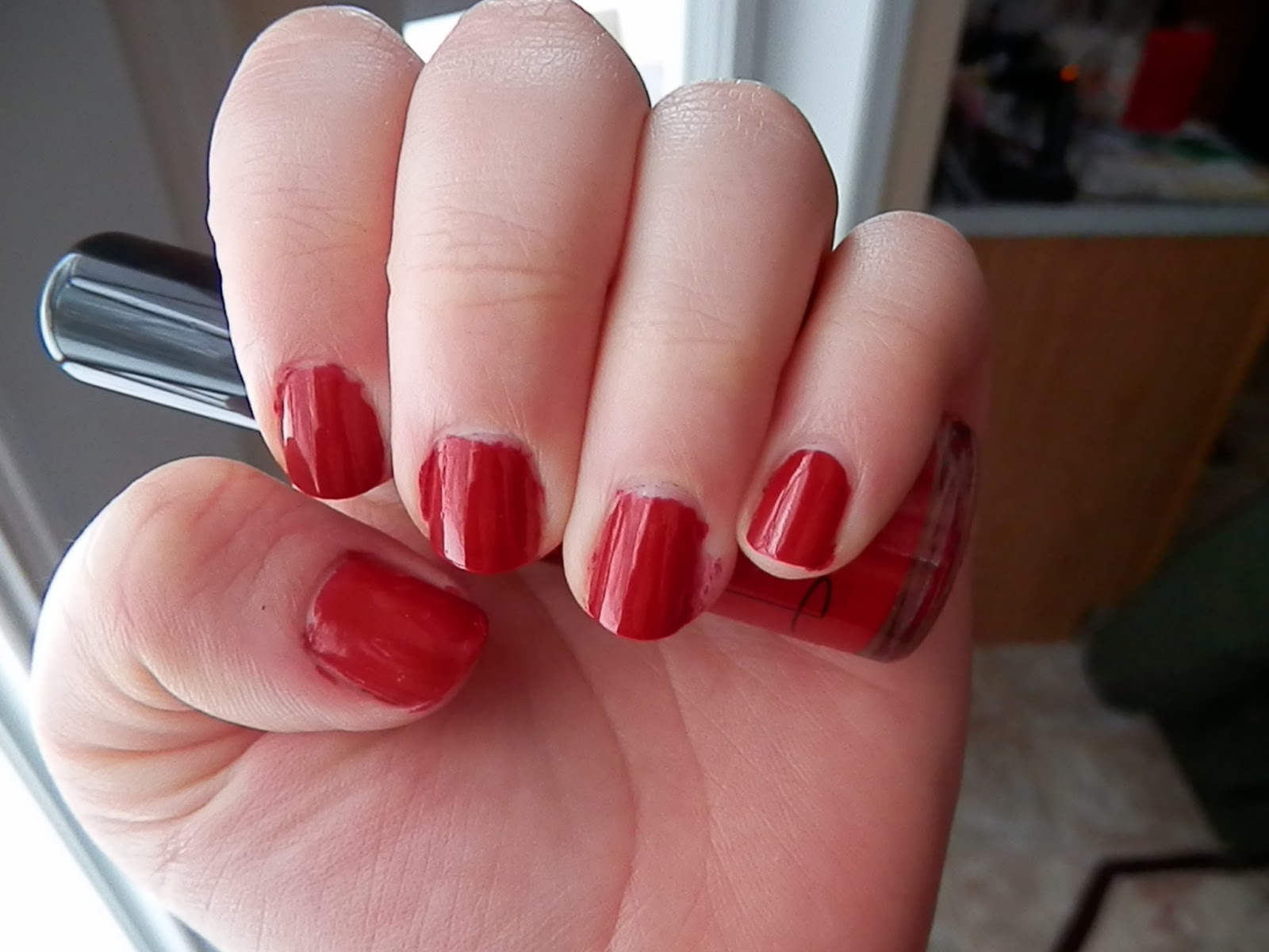 Nailtini Bloody Mary Swatch
