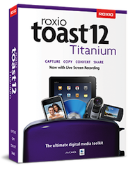 Disponibile Toast 12 Titanium e Toast 12 Pro per Mac OS X