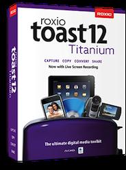 Disponibile Toast 12 Titanium e Toast 12 Pro per Mac OS X