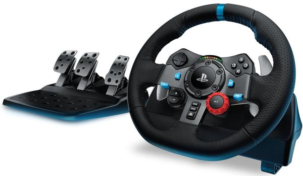 Logitech G29 Steering Wheel and Pedals
