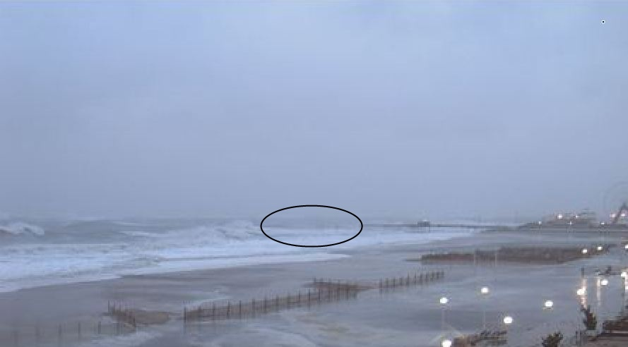 Lower eastern shore news ocean city pier before and after for Ocean city md fishing pier