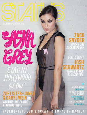 Sasha Grey Status Magazine Cover