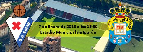 Previa Copa del Rey SD Eibar - UD Las Palmas