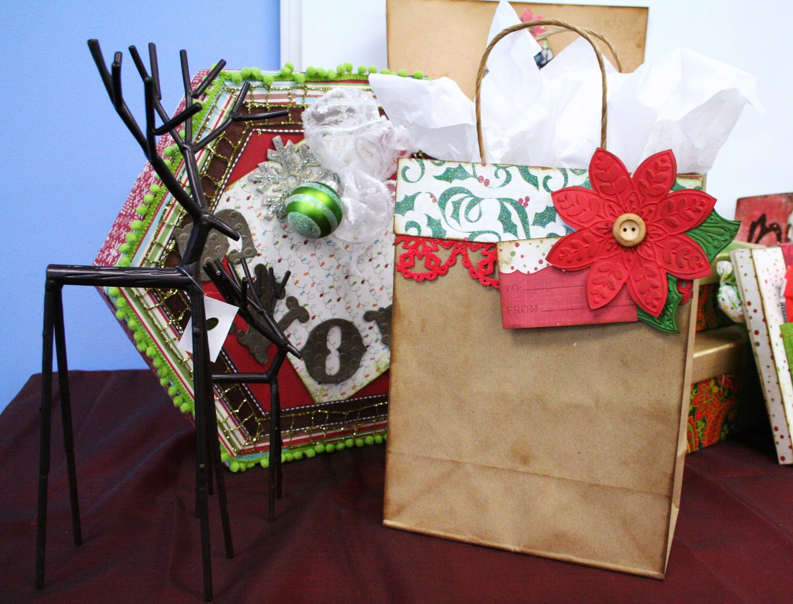 Oh my crafts blog day 1 do it yourself christmas gift bags Do it yourself christmas gifts