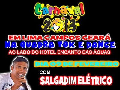 CARNAVAL ESTÁ DE VOLTA EM LIMA CAMPOS - CE