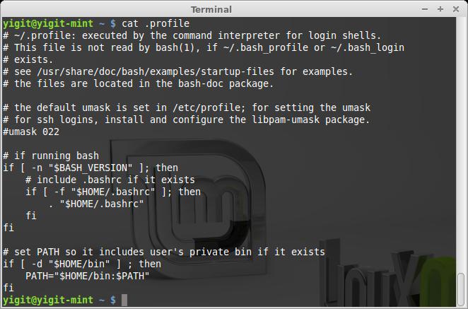 Linux cat komutu