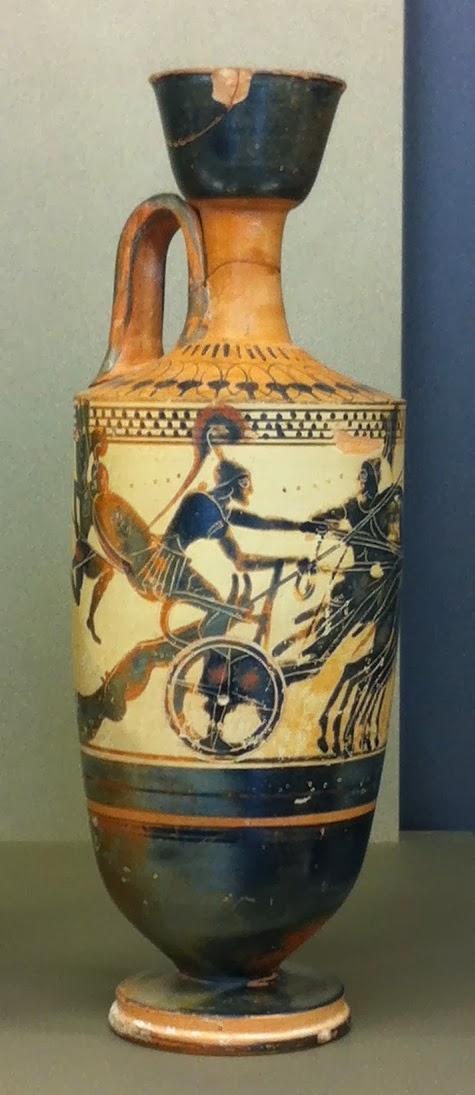 Achille cadavre Hector