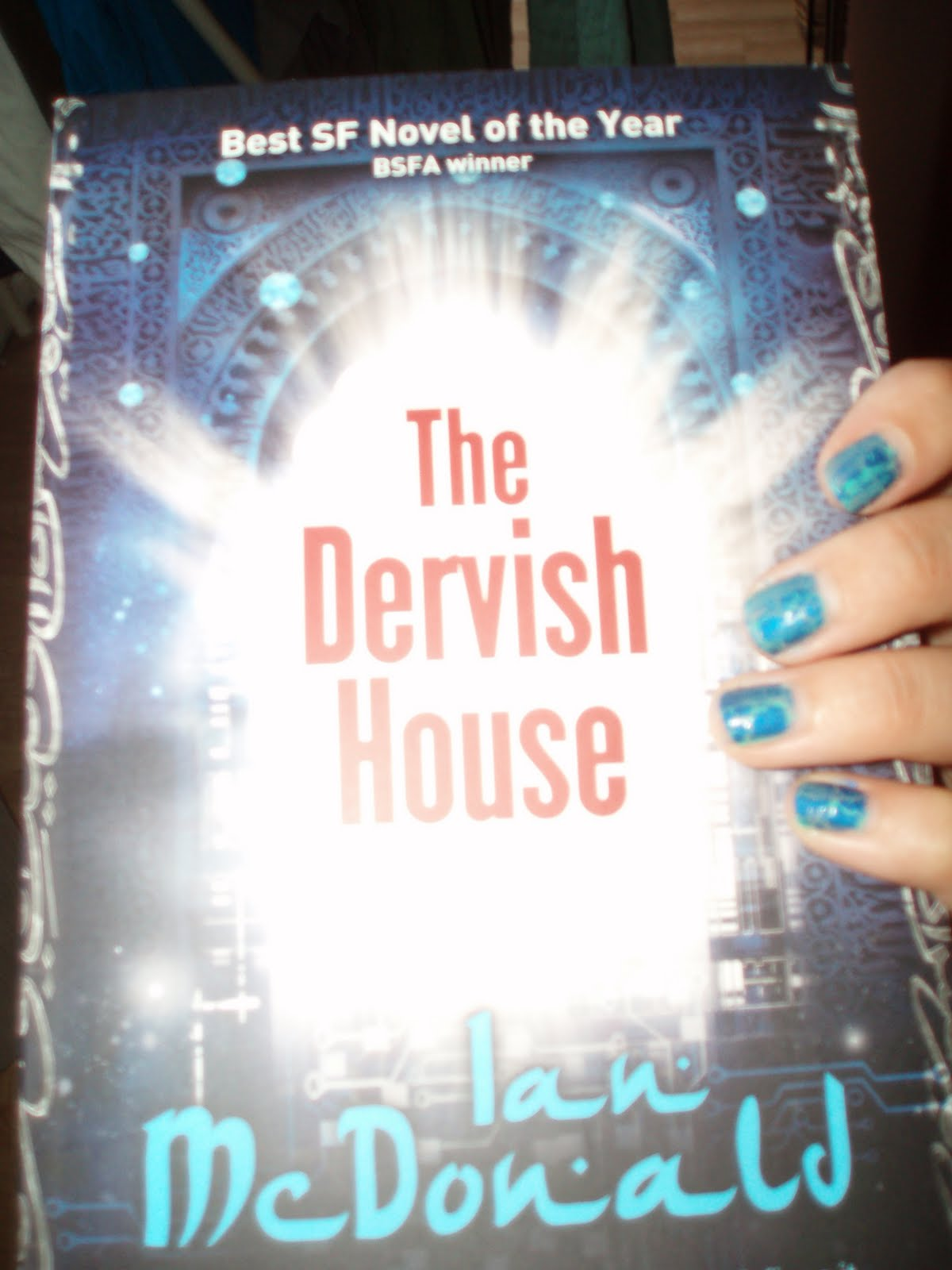 vvb32 reads: Books & Nails: The Dervish House by Ian McDonald