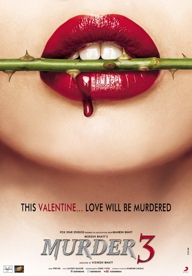 Murder 3 - 2013 Hindi mobile movie poster hindimobilemovie.blogspot.com