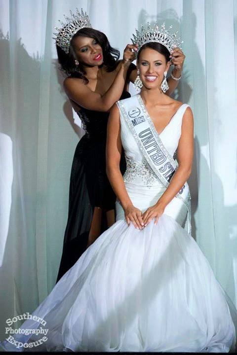 Miss United States USA 2014 winner Elizabeth Safrit