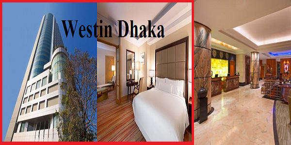 Room Tariffs of Hotel Westin Dhaka