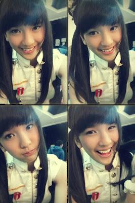 Beby foto premium content JKT48 clock