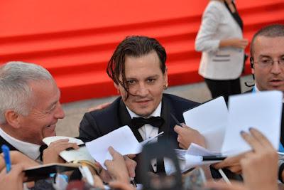 Johnny Depp ingrassato al Festival