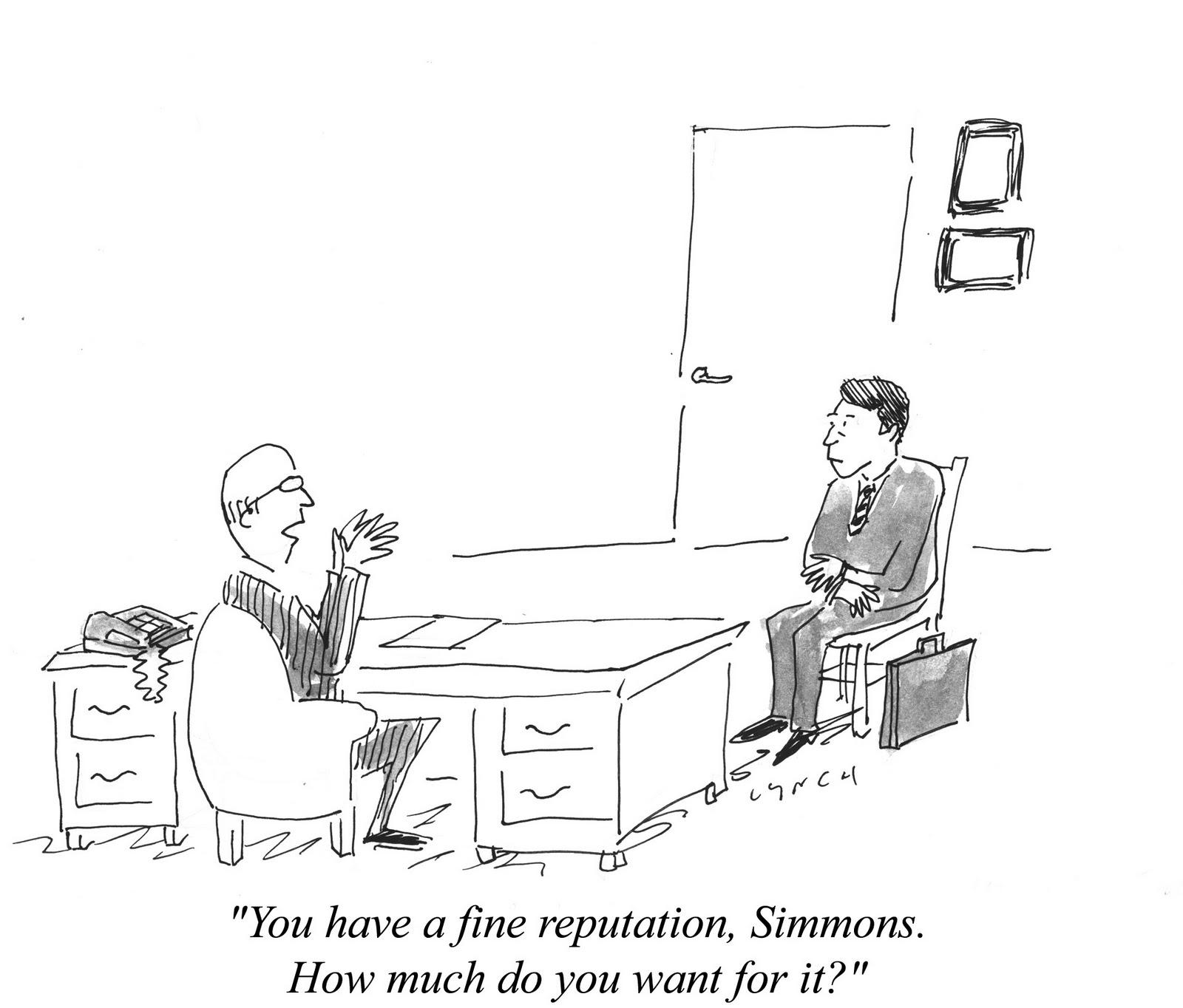 Mike Lynch Cartoons: Resume Cartoons