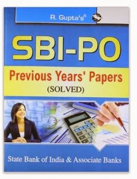 SBI: PO Previous Papers (Solved) Book