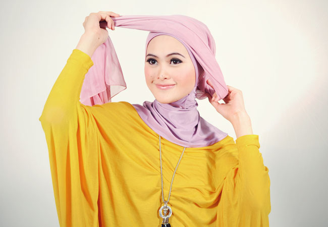 Cara Memakai Jilbab Ala Hana Tajima Jpg Tips Cara Memakai Jilbab ...