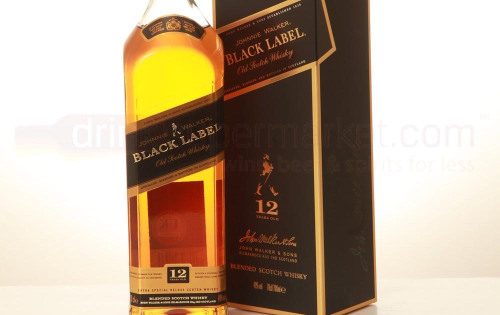 johnnie walker black label scotch whisky wine. Black Bedroom Furniture Sets. Home Design Ideas