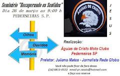 """SEMINÁRIO """"RECUPERANDO OS SENTIDOS"""" - SÁBADO - DIA 26 DE MARÇO 2011 - FOI UMA BENÇÃO - OBRIGADO"""