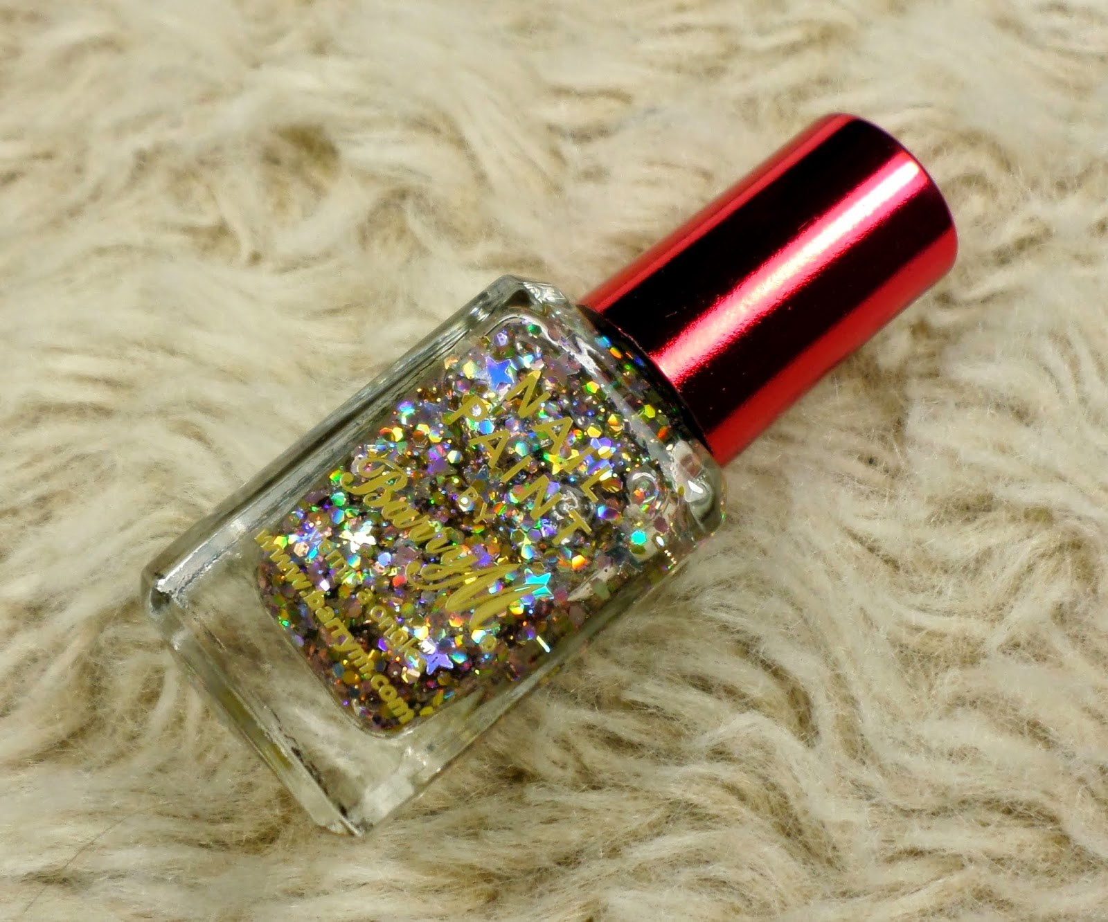 Barry M Christmas 2014 Limited Edition Nail Paint in the shade Moonlight