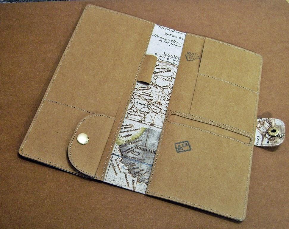 Travel organizer из моющейся крафт-бумаги
