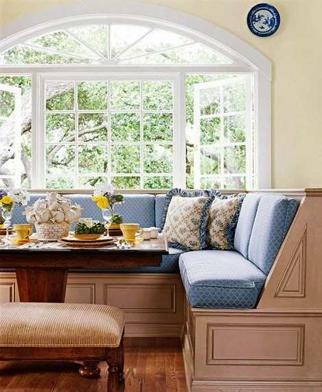 702 Hollywood: Window Seating-Banquettes