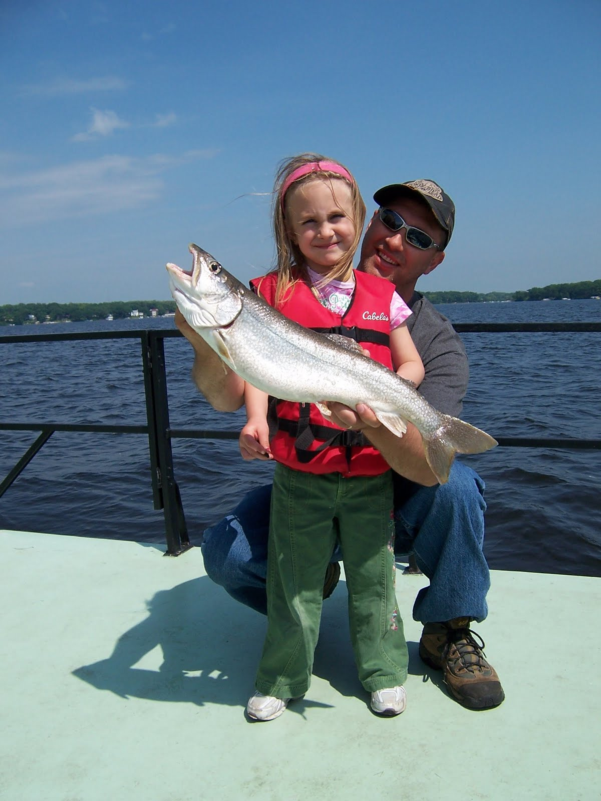 Norton 39 s lake report and catch of the day update on big for Big fish lake