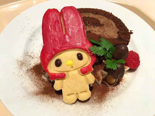 Sanrio Puroland food restaurant dessert
