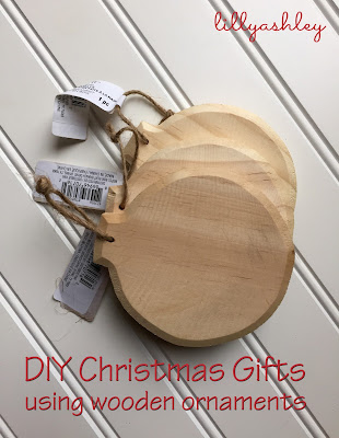 Inexpensive Christmas Gift Wooden Ornaments